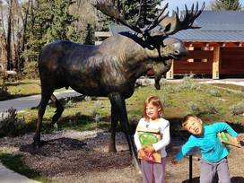 Craig Thomas/Moose Discovery and Visitors Center - Moose, Wyoming