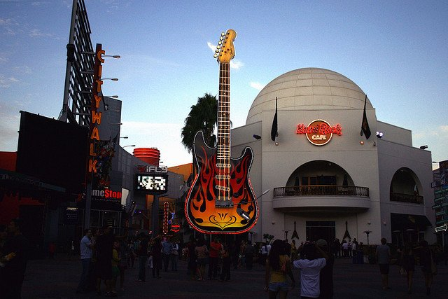 Hard Rock Cafe California Locations