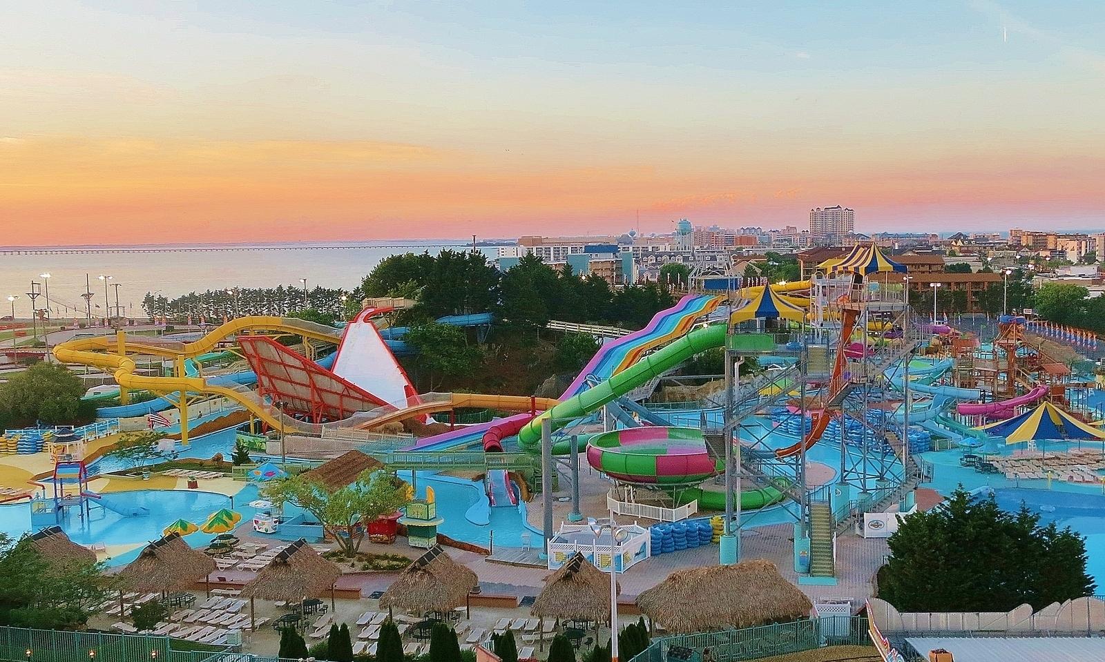 Jolly Roger Splash Mountain Water Park Ocean City Md