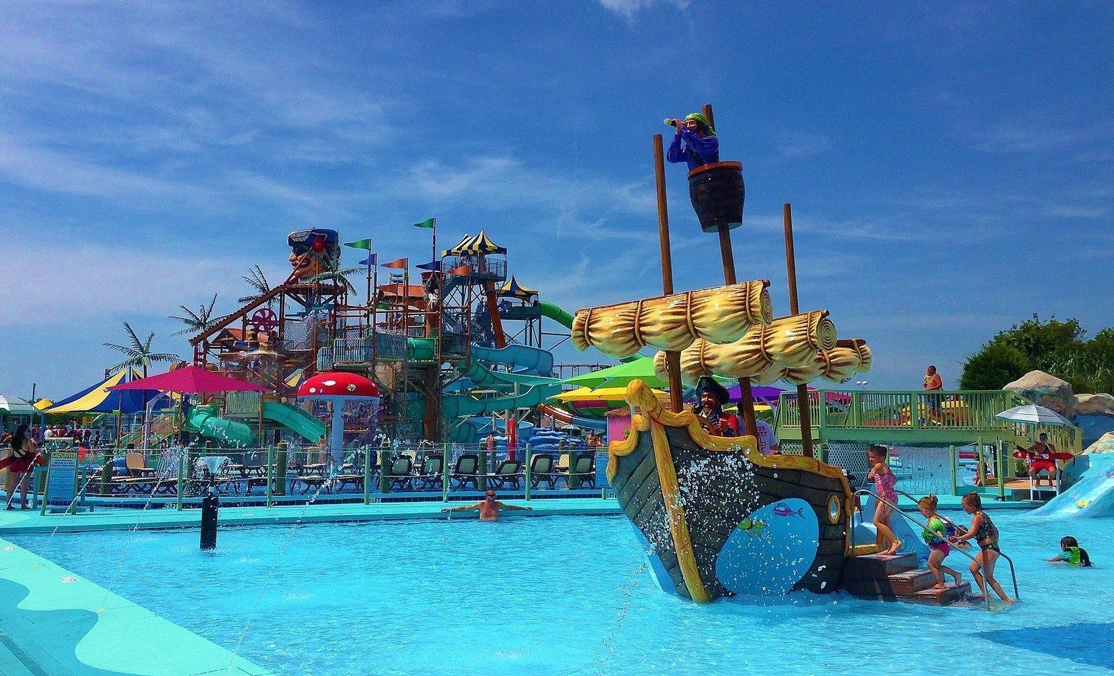 Jolly Roger Splash Mountain Water Park in Ocean City, MD ...