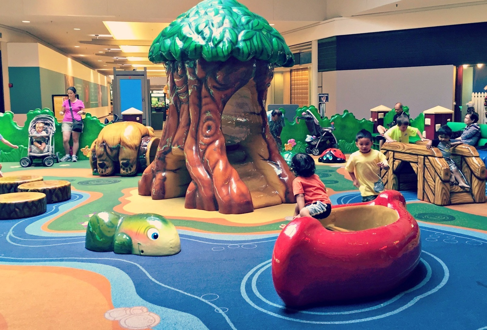 Spring Hill Mall Dundee Il Kid Friendly Activity