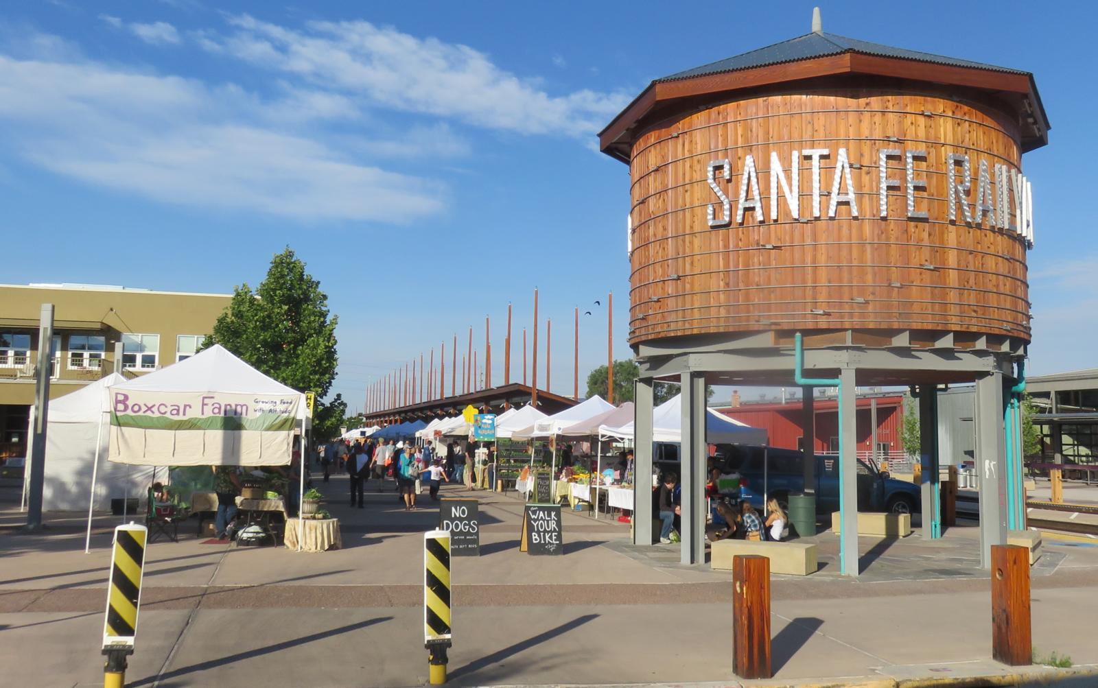 Historic Santa Fe Plaza In Santa Fe Nm Kid Friendly