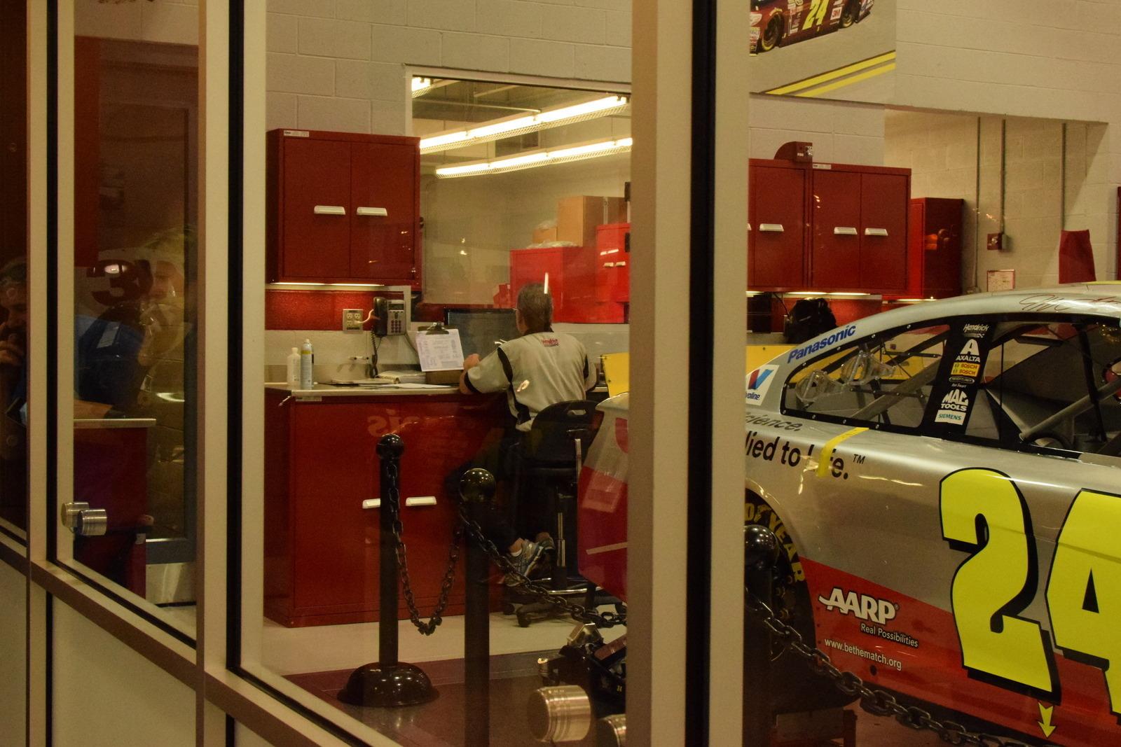 Charlotte Motor Speedway Race Shop Tour Concord Nc