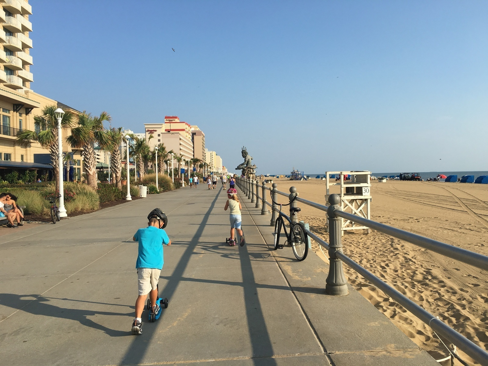 Virginia Beach Boardwalk In