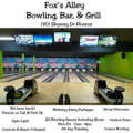 Fox's Alley Bowling  | travel activity for kids