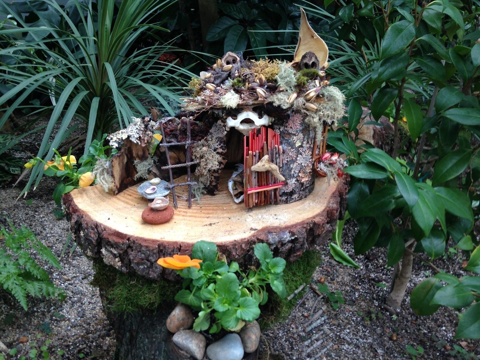 Gnome In Garden: Fairy Garden Days At Roger Williams Park Botanical Center