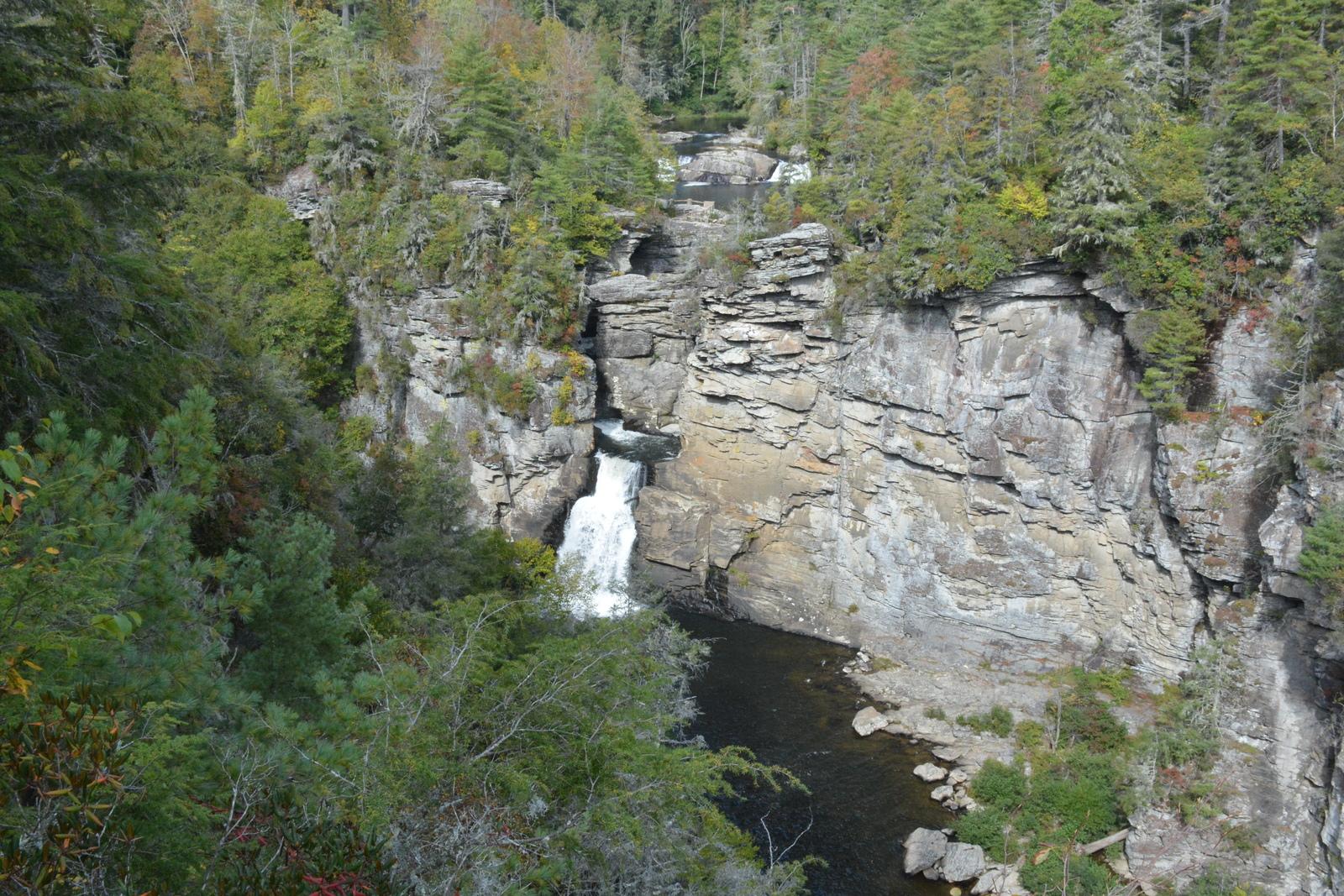 Linville Falls - Linville Falls, North Carolina