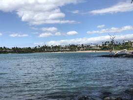 Anaeho'omalu Beach - Waikoloa Village, Hawaii