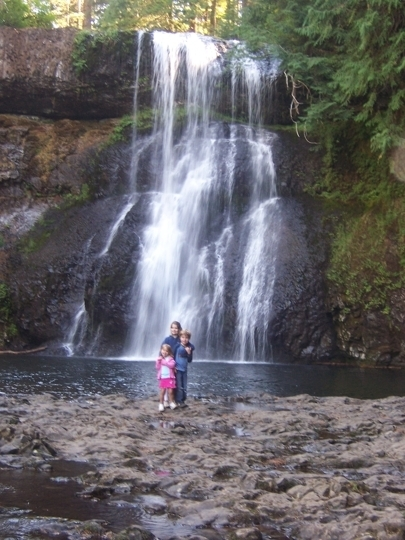 Silver Falls State Park Sublimity Or Kid Friendly