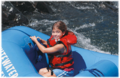River Rafting in Northern California - family travel tip