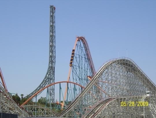 Six Flags Magic Mountain The Xtreme Park Valencia Ca