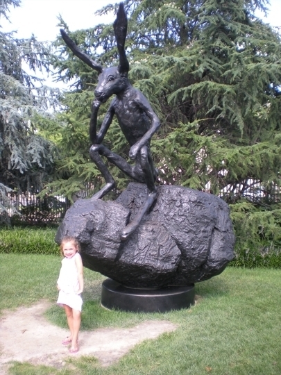 National gallery of art sculpture garden washington dc kid trekaroo for Dc jazz in the garden