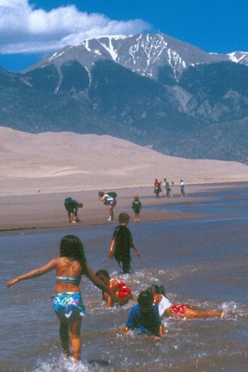 Great Sand Dunes National Park And Preserve Mosca Co