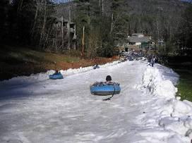 Frozen Falls Tube Park - Sapphire, North Carolina
