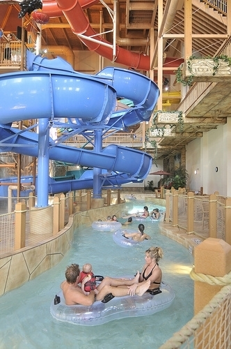 Chula Vista Resort Wisconsin Dells Wisconsin Indoor: Lost Rios Waterpark At Chula Vista Resort