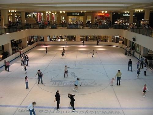 Lloyd Center is located in the Lloyd district of Portland. It is 3 stories but the 3rd story is occupied by a college. In the middle of the mall there is an ice skating rink.3/5().