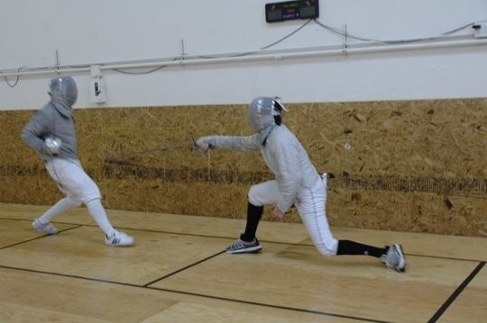 Fencing Classes In San Francisco California Kid