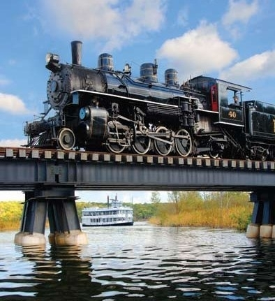 Essex steam train and riverboat images 8