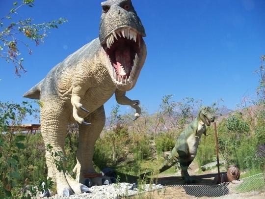 Cabazon Dinosaurs Robotic Dinosaurs And Museum Cabazon