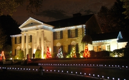Christmas at Graceland in Memphis