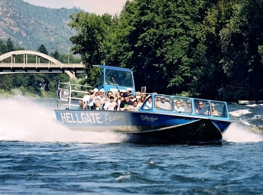 hellgate jetboat excursions in grants pass or parent. Black Bedroom Furniture Sets. Home Design Ideas