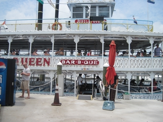 Jungle Queen Riverboat In Fort Lauderdale Florida Kid