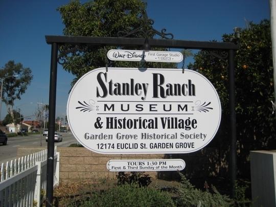 Stanley Ranch Museum Amp Historical Village Garden Grove