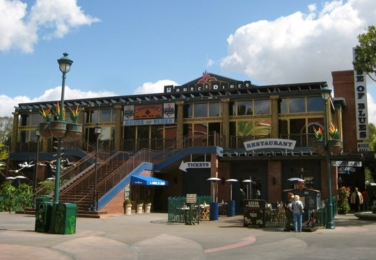House of blues restaurant downtown disney anaheim ca for King s fish house anaheim