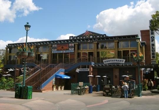 House Of Blues Restaurant Downtown Disney Anaheim Ca