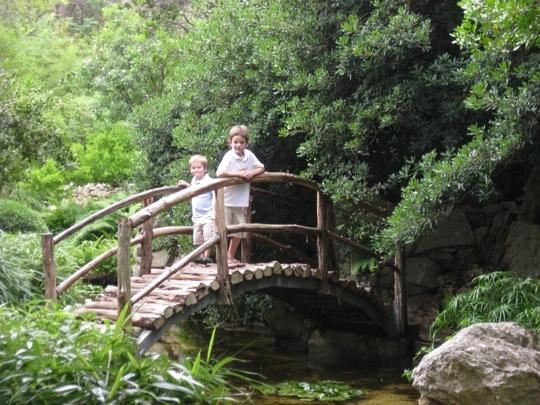 Zilker Parks Botanical Gardens Austin TX Kid