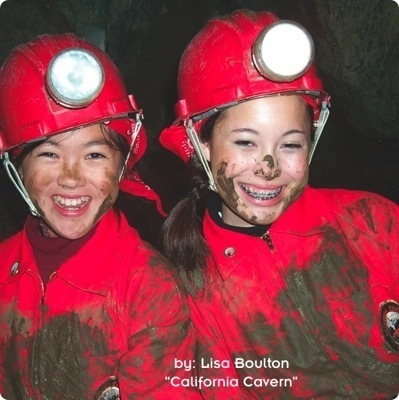Kids Underground:  California Cave Adventures  - kids travel tips, kids activities tips
