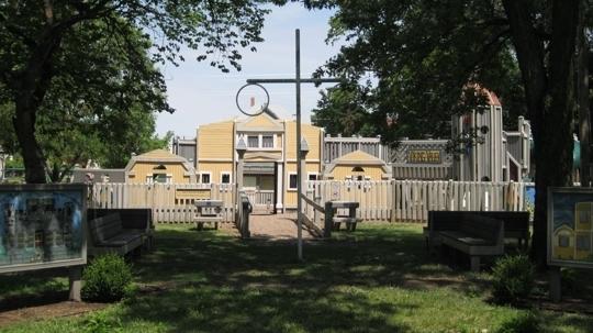 Swensson Park Viking Valley Playground - Lindsborg, Kansas