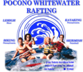 Pocono Whitewater Rafting | travel activity for kids