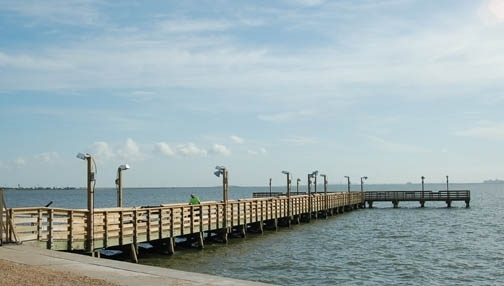 Port lavaca fishing pier port lavaca tx kid friendly for Port lavaca fishing