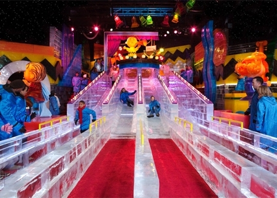 Quot Ice Quot At The Gaylord Texan Grapevine Tx Kid Friendly