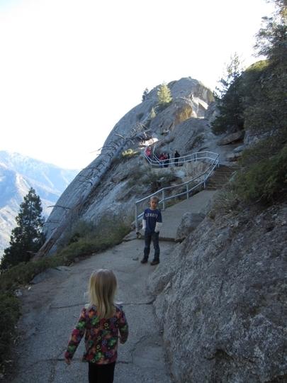 Moro Rock Sequoia National Park Ca Kid Friendly
