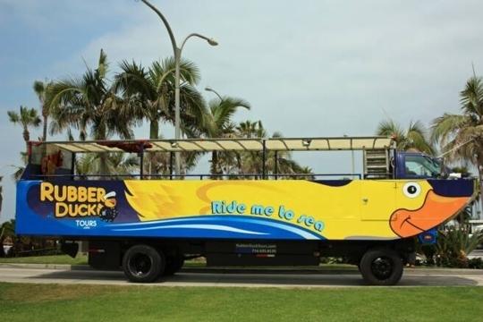 Rubber Duck Tours Long Beach Ca Kid Friendly Activity