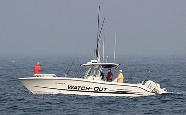 Watchout fishing charter dartmouth ma kid friendly for Fishing charters plymouth ma