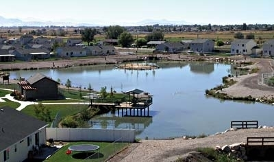 Meadow creek pond roy ut kid friendly activity for Kid friendly fishing near me