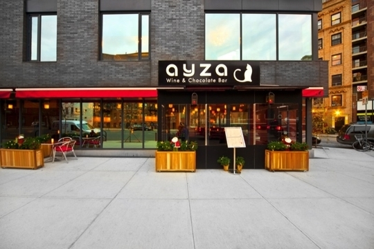 Ayza Wine And Chocolate Bar West Village In New York